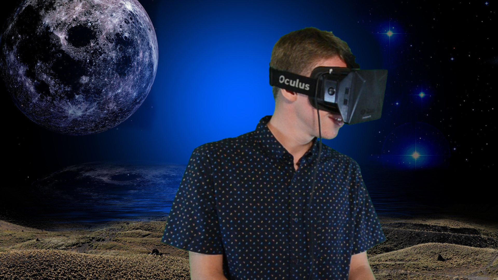 Test drive of Oculus Rift and Google Cardboard. Virtual Reality